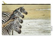 A Grevys Zebra In Ngorongoro Crater Carry-all Pouch
