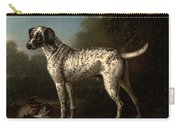 A Grey Spotted Hound Carry-all Pouch