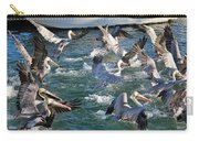 A Group Of Pelicans Carry-all Pouch
