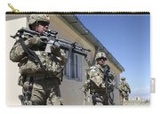 A Group Of U.s. Army Soldiers Provide Carry-all Pouch