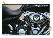 A Harley In Arlington Carry-all Pouch