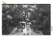 A Hawaiian Woman Dancing Carry-all Pouch