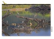 A Hedge Of Heron Carry-all Pouch