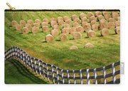 A Herd Of Hay Bales Carry-all Pouch