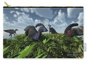 A Herd Of Herbivorous Parasaurolophus Carry-all Pouch