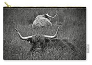 A Highland Cattle In The Scottish Highlands Carry-all Pouch