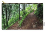 A Hiking Trail Goes Up Saddle Mountain Carry-all Pouch
