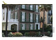 A Historic Home On The Battery - Charleston Carry-all Pouch