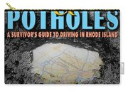 A--holes And Potholes Book Cover Carry-all Pouch
