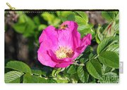 A Hornet And Beach Rose Carry-all Pouch