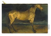 A Horse Frightened By Lightning Carry-all Pouch