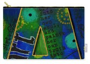 A Is For Art And Art Is Love Carry-all Pouch