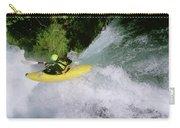 A Kayaker Running A Beautiful Spirit Carry-all Pouch