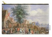 A Kermesse On St. Georges Day Carry-all Pouch by Angel-Alexio Michaut