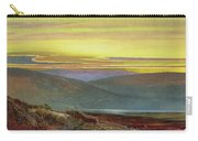 A Lake Landscape At Sunset Carry-all Pouch