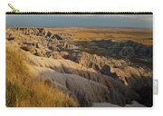A Landscape Image Of Badlands National Carry-all Pouch