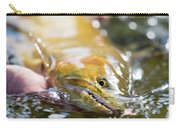 A Large Cutthroat Being Released Carry-all Pouch