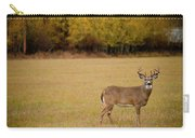 A Large Whitetail Buck Stairs Carry-all Pouch