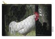 a Leghorn and His Shadows Carry-all Pouch