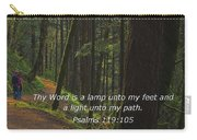 A Light Unto My Path Carry-all Pouch