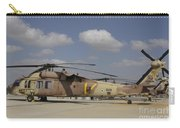 A Line Of Uh-60l Yanshuf Helicopters Carry-all Pouch