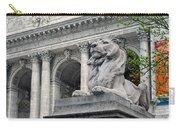 A Lion Called Fortitude Carry-all Pouch