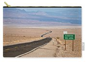 A Long Road Through Death Valley Carry-all Pouch