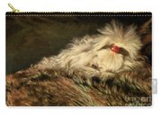 A Long Winter's Nap Carry-all Pouch by Lois Bryan