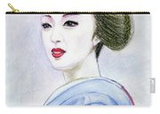 A Maiko  Girl Carry-all Pouch