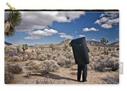 A Man Looks Into The Distance Carry-all Pouch
