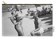 A Man Proposes On The Beach Carry-all Pouch