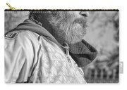 A Man With A Purpose Monochrome Carry-all Pouch