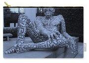 A Maze Ing Man Cyan Carry-all Pouch