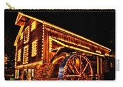A Mill In Lights Carry-all Pouch by DJ Florek