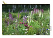 A Mixture Of Flowers Bloom In Hillside Carry-all Pouch
