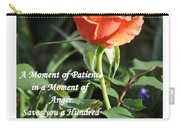 A Moment Of Patience Carry-all Pouch