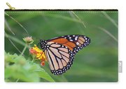A Monarch Butterfly At Rest Carry-all Pouch