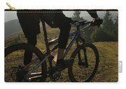 A Mountain Biker Makes His Final Carry-all Pouch