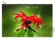 A Mountain Flower  John 3 16 Carry-all Pouch