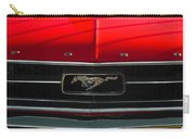 A Mustang  Carry-all Pouch