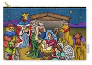 A Nativity Scene Carry-all Pouch
