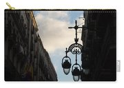 A Necklace Of Barcelona Streetlamps Carry-all Pouch