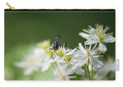 A Nectar Drink For This Black Mud Dauber   Carry-all Pouch