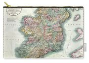 A New Map Of Ireland 1799 Carry-all Pouch