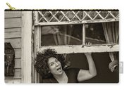 A New Orleans Greeting Sepia Carry-all Pouch