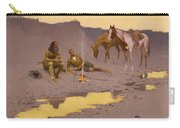 A New Year On The Cimarron  Carry-all Pouch
