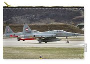 A Northrop F-5e Tiger Of The Swiss Air Carry-all Pouch