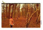 A November Stroll Through Formby Woods Carry-all Pouch