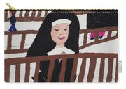 A Nun In Prayer Carry-all Pouch