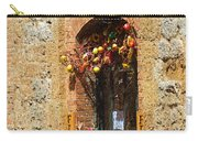 A Painting A Tuscan Shop Doorway Carry-all Pouch
